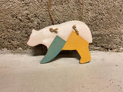 California Bear Ornament
