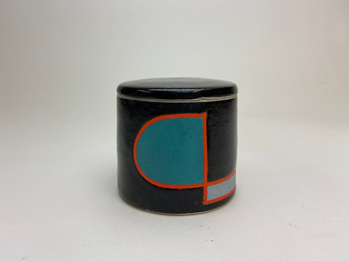 Color Blocked Small Container