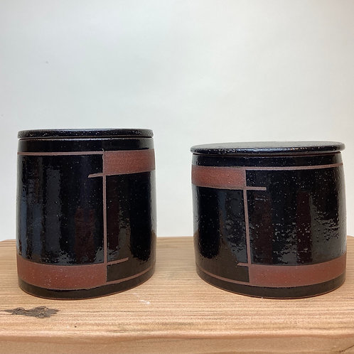 Stash Jars, Two Tone