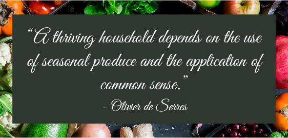 common sense, clean eating, seasonal eating