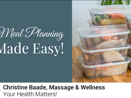 Meal Prepping Made Easy in 4 Simple Steps!