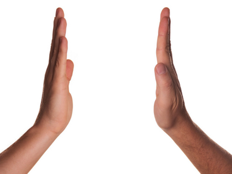 """Giving a """"high five"""" to imitating gestures!"""