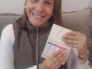 MY MOM GOT HER VISA