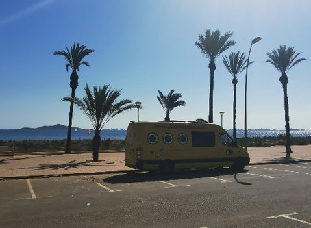 Vanlife Travel Diary - Week 4, Heat Sand and Ruins