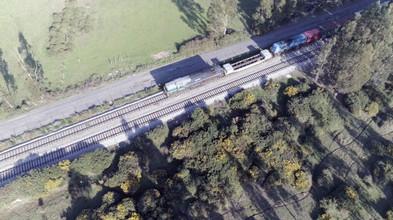 Línea férrea/Railway Rocuant