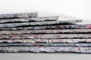 Collection de dalles de papier recyclé A3