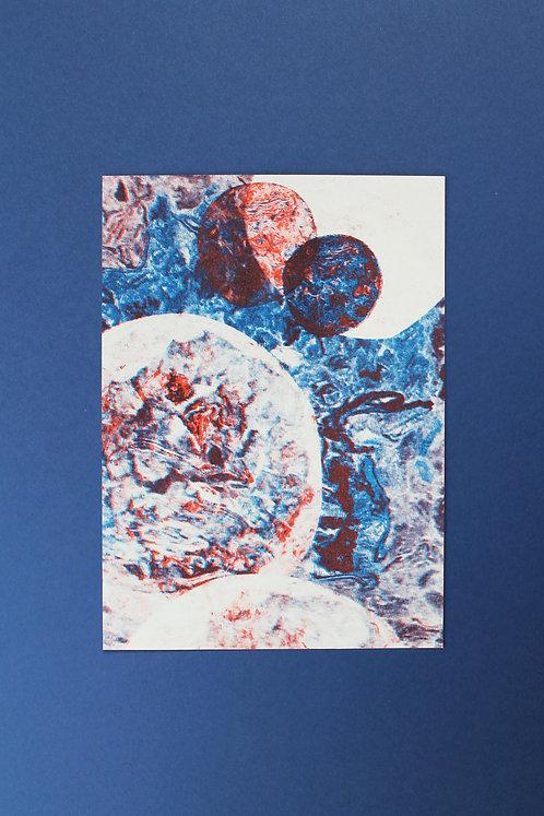 Carte Postale Paysage de Cailloux