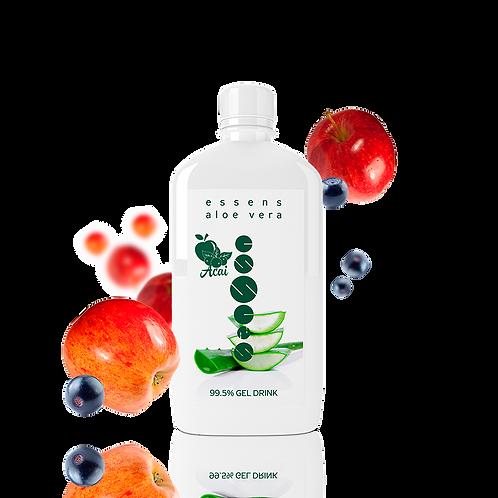 Aloe Vera 99,5% питьевой гель - Яблоко + Асаи