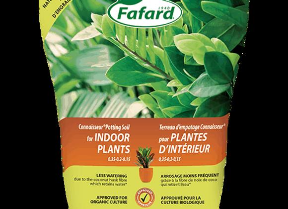 Terreau d'empotage Connaisseur pour plantes d'intérieur et tropicales - 5L