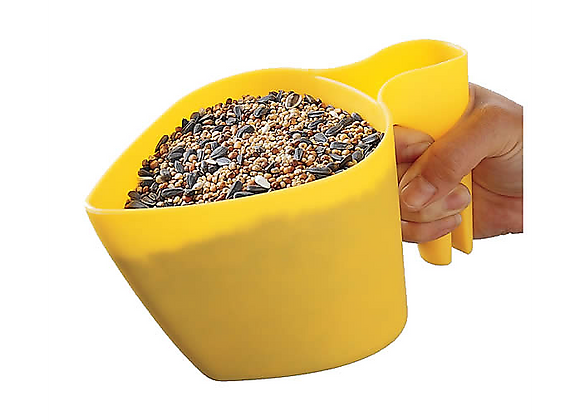 Pelle à main pour graines d'oiseaux