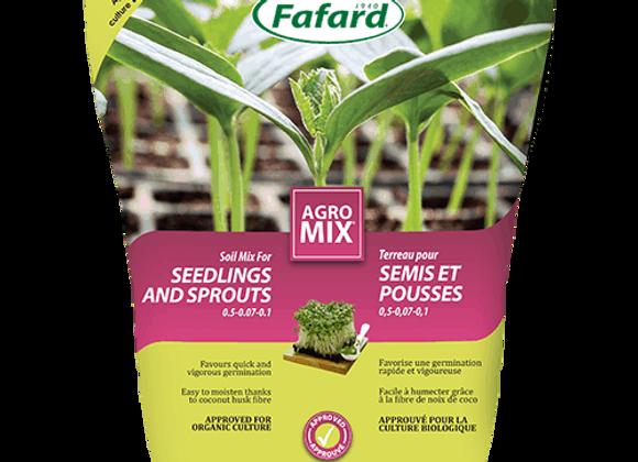 Terreau Agromix pour semis et pousses - 10L