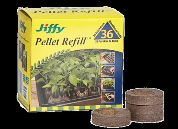 Recharge Jiffy pour pastilles de tourbe