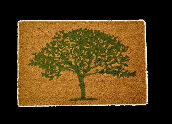Tapis avec dessin d'arbre