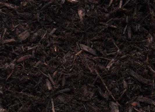 Paillis de cèdre de couleur Noir