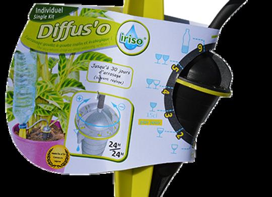 Diffus'O iriso - arrosage goutte à goutte