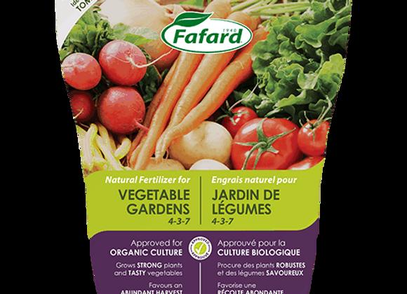Engrais pour jardin de légumes