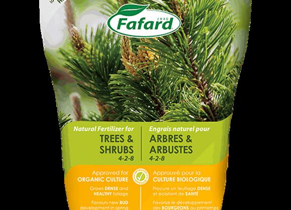 Engrais pour arbres et arbustes