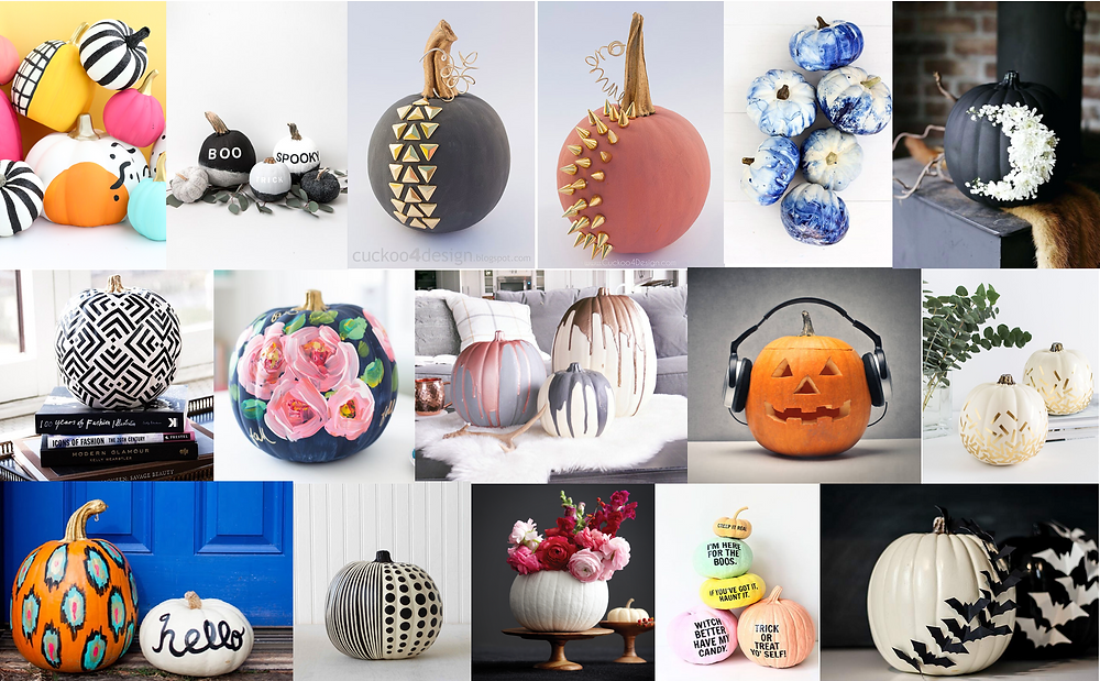 16 Designer Approved Pumpkins