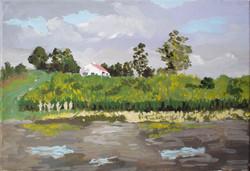 El lago y la casa del pintor1