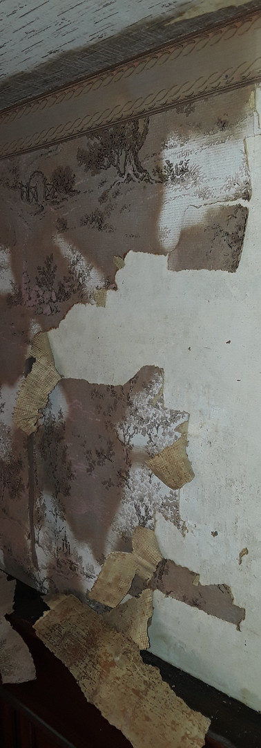 Before:  Stripping wallpaper...