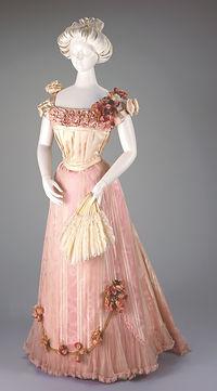 1898-1901-womens-pink-silk-evening-dress