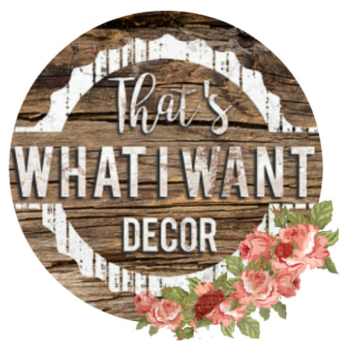 That's What I Want Decor logo