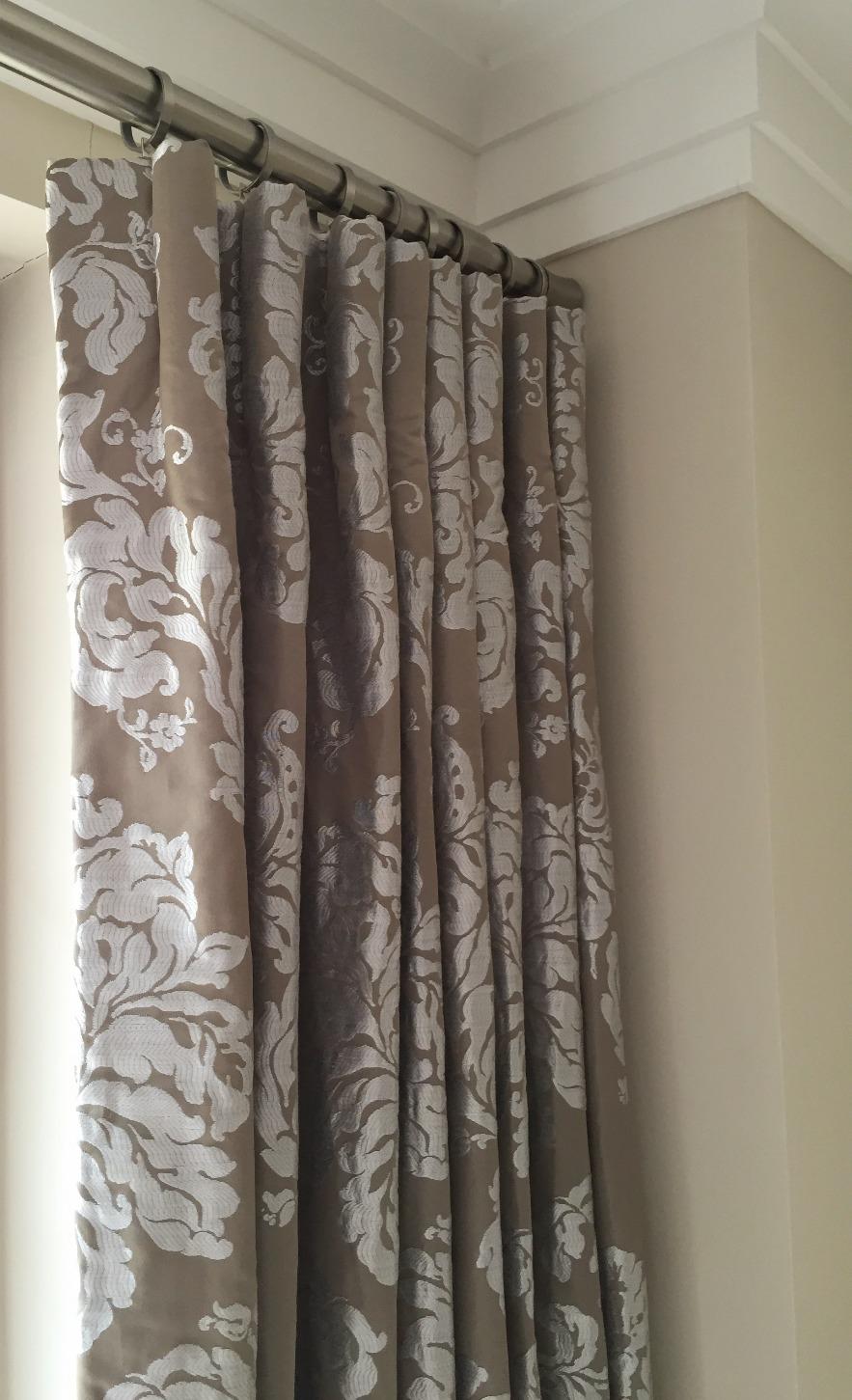 Cartridge headed curtains