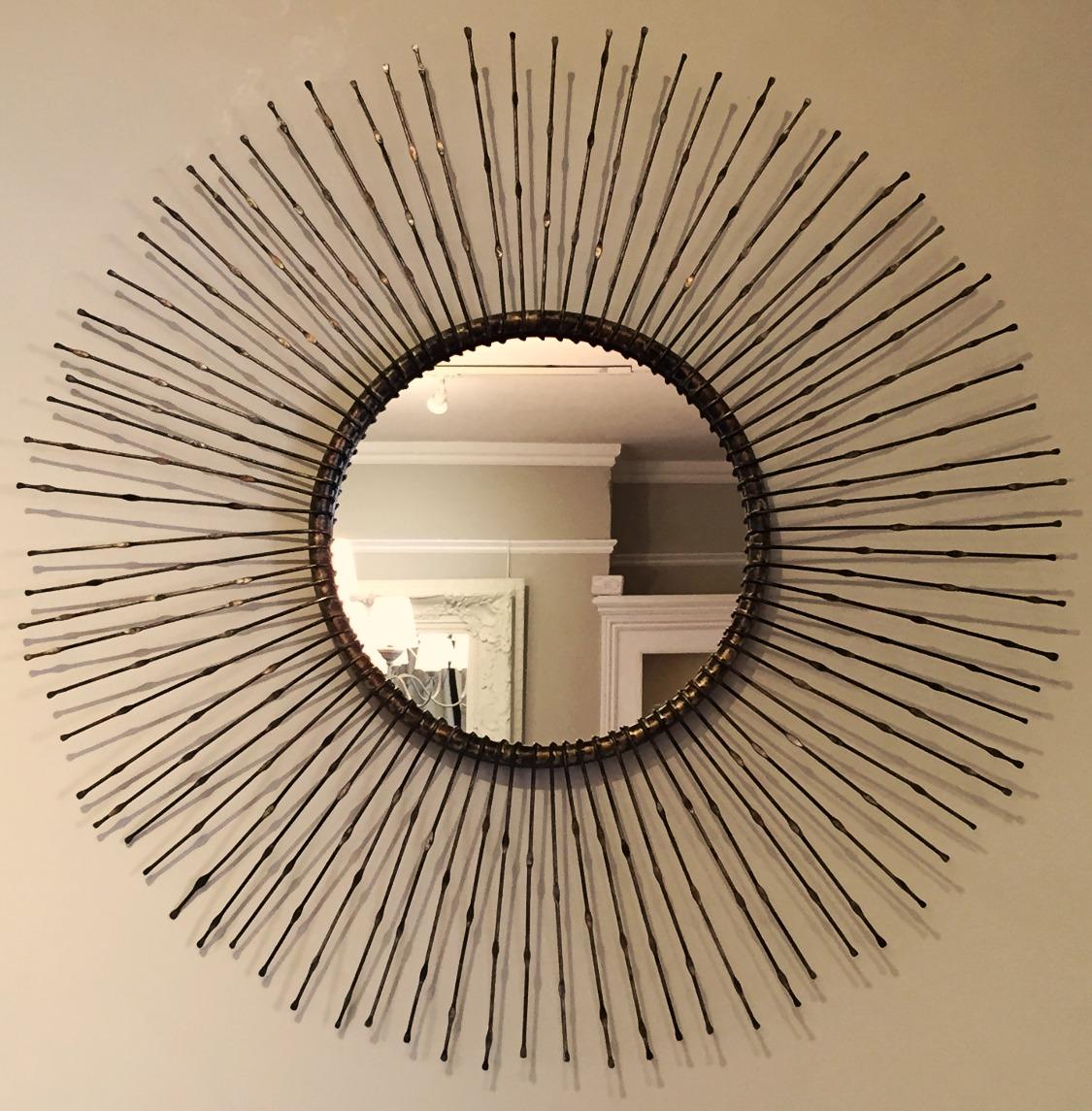 Bowden Round Mirror