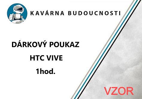 Dárkový poukaz HTC Vive - 1hod.