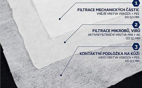 Nanovlákový filtr (balení 5ks)