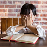 Frustrated Girl w Book.png
