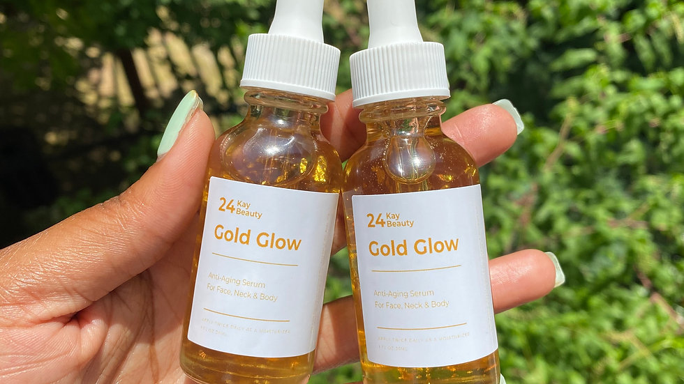 24k Gold Glow