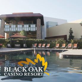 Black Oak Casino - Stay & Play Package $110 Starting Bid