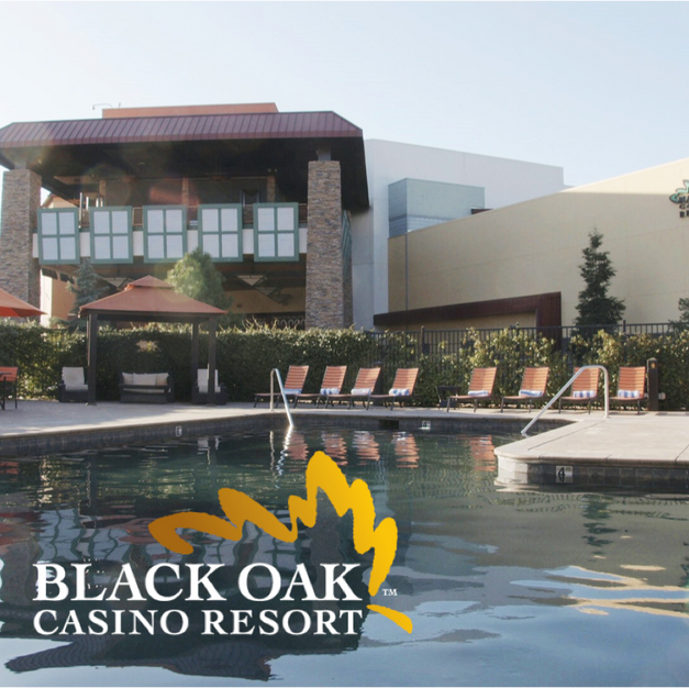 Black Oak Casino - Stay & Play Package $110 Starting Bid