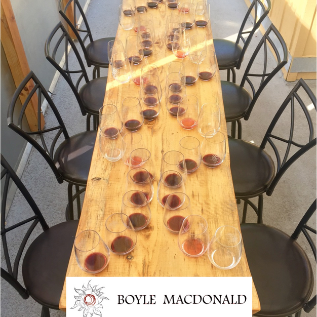 Boyle MacDonald Wines - Tasting Certificate $100 Starting Bid