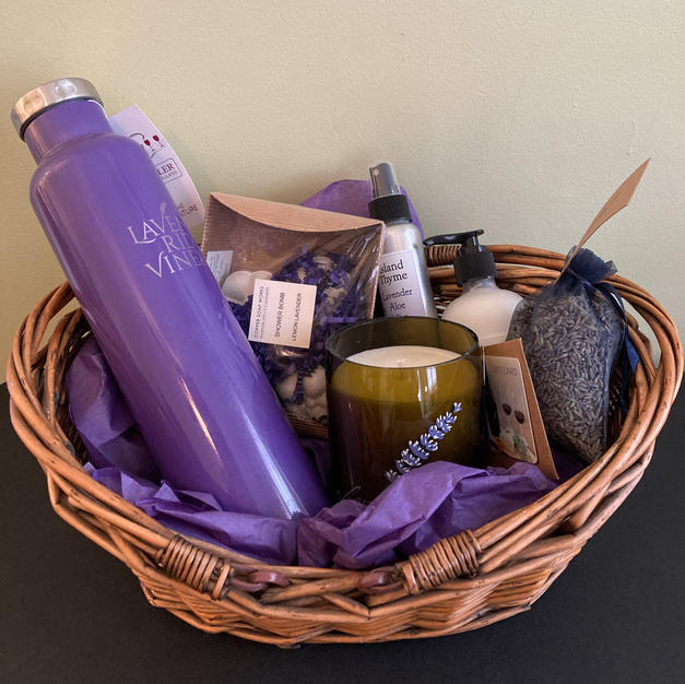 Lavender Ridge Vineyard - Gift Basket $70 Starting Bid