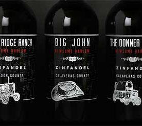Newsome Harlow Wines - 6 Bottle Horizontal Zinfandel Flight $100 Starting Bid
