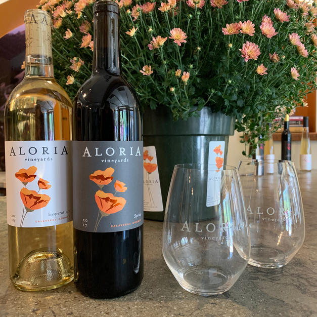Aloria Vineyards - Gift Basket $40 Starting Bid