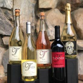 Tanner Vineyards - Mixed Case of Wine $160 Starting Bid