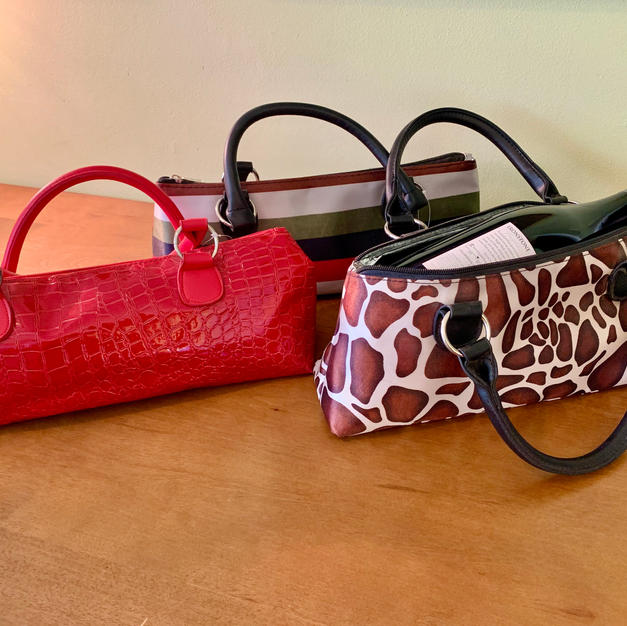 Wine Purse Trio $35 Starting Bid