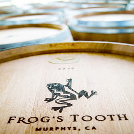 Wine Tasting & Hors d'oeuvres for 8 at Frog's Tooth $36 Starting Bid