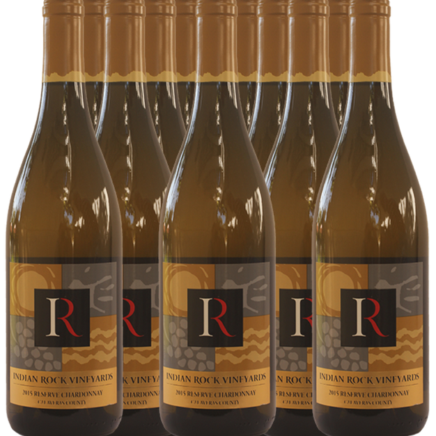 Indian Rock Vineyards - Case of Reserve Chardonnay $180 Starting Bid