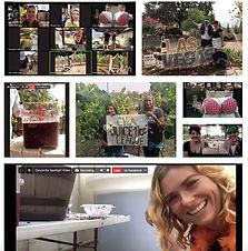 Annual Grape Stomp held in cyberspace