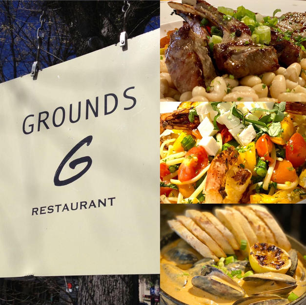 Grounds - Gift Certificate Dinner for Two $25 Starting Bid