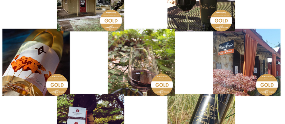 Tasting Gold in Calaveras Wine Country - 2021 SF Chronicle Wine Competition
