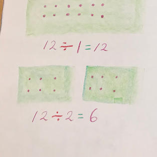 pic 6: mark the seeds and write the number sentence