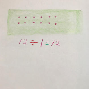 pic 3: mark the 12 seeds & write the number sentence