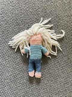 Olive's Knitted Elsa