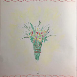 p6 Drawing-A Bunch of Flowers