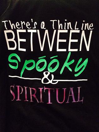 Spooky vs. Spiritual
